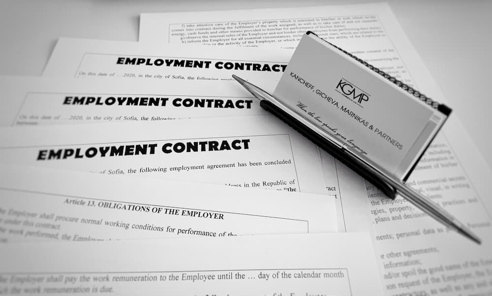 Employment contract in Bulgaria