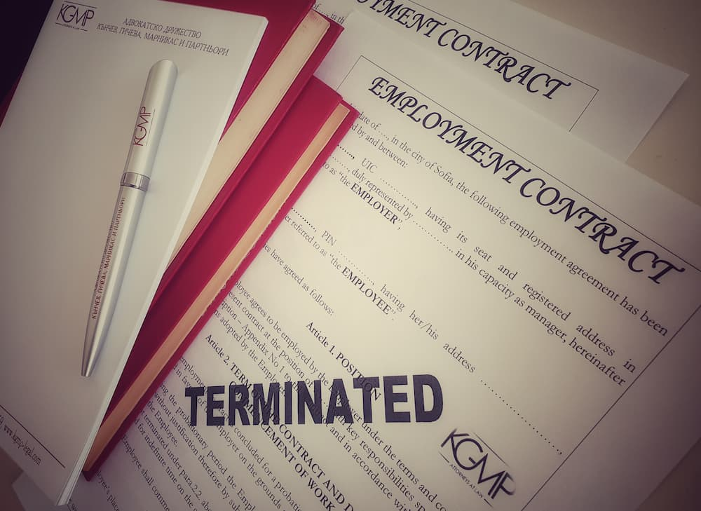 Termination of employment contract in Bulgaria