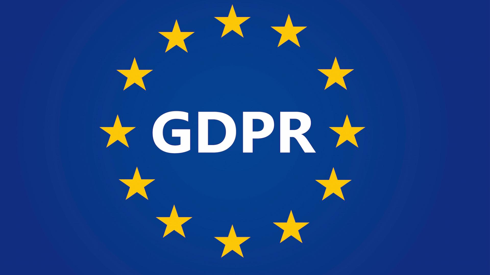 RGPD fue de aplicación el 25 de mayo de 2018.