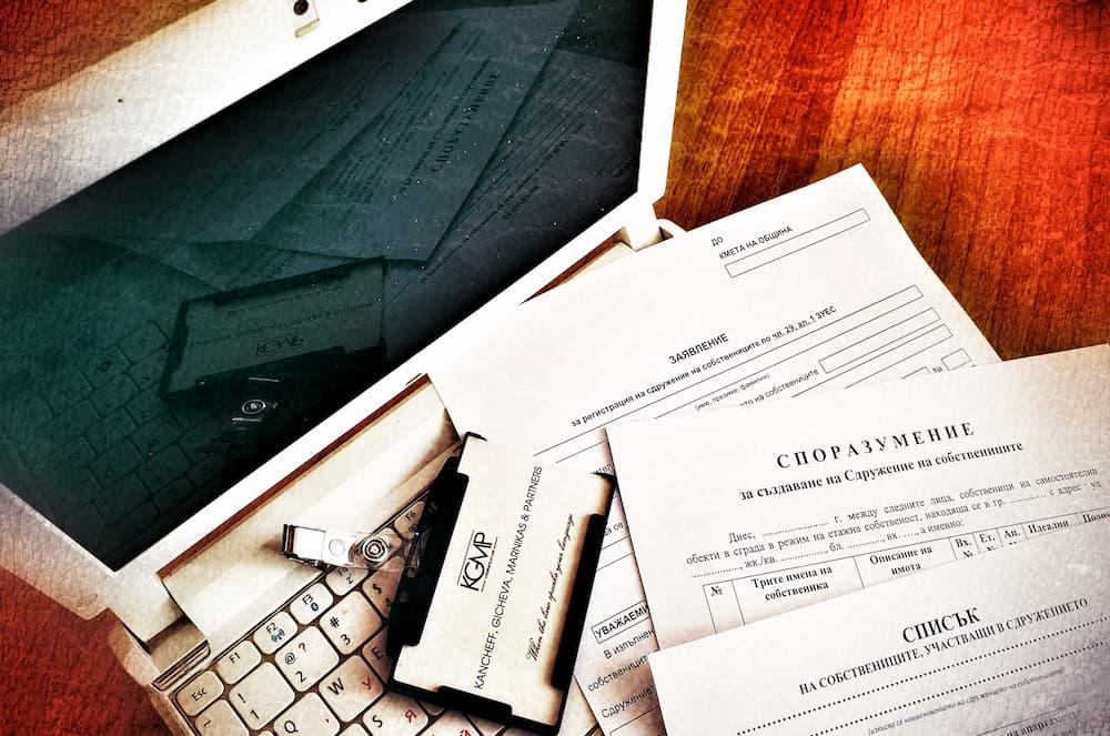 Registro de una Asociación de propietarios de condominios en Bulgaria