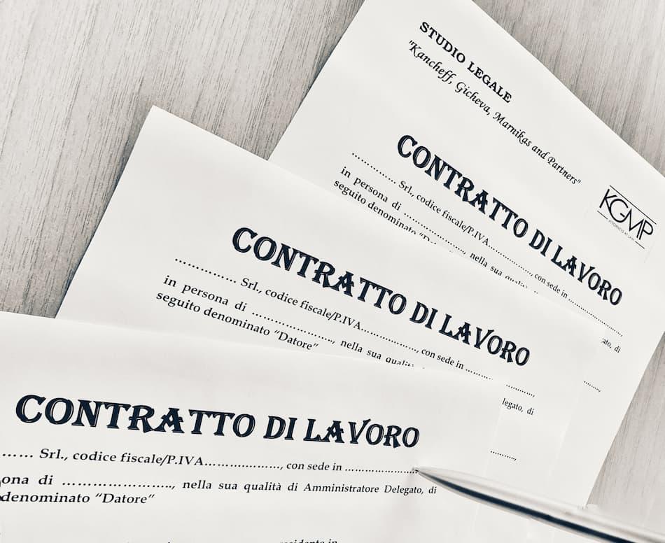 Contratto di lavoro in Bulgaria