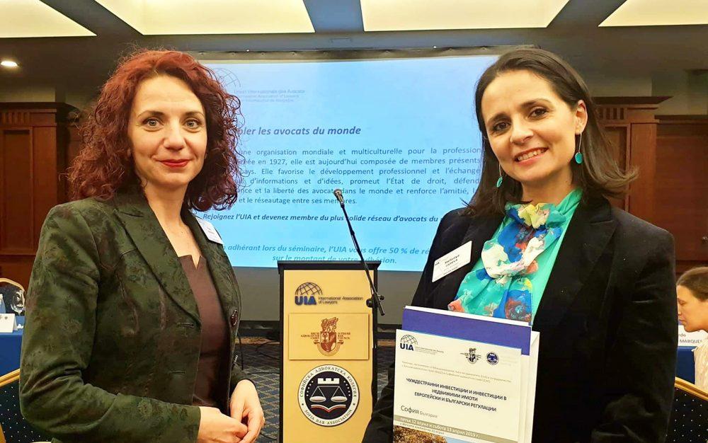 Forum internazionale per gli investimenti esteri e gli investimenti nel settore immobiliare ha riunito i principali avvocati provenienti dalla Bulgaria e dall'estero