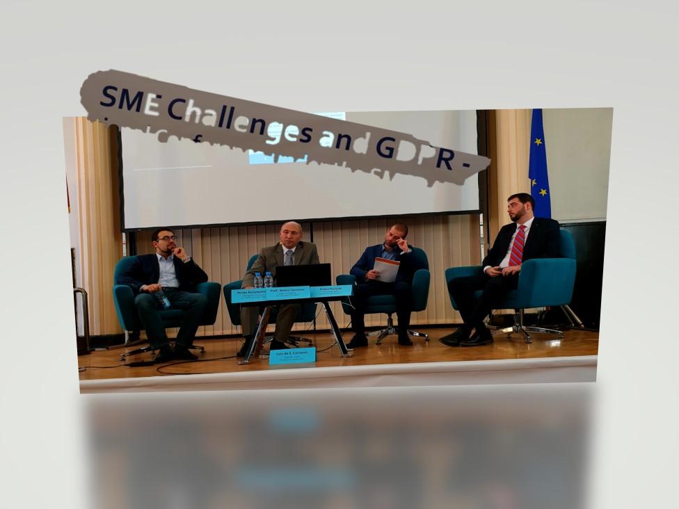 Екипът на КГМП участва в Международна конференция по прилагането на GDPR